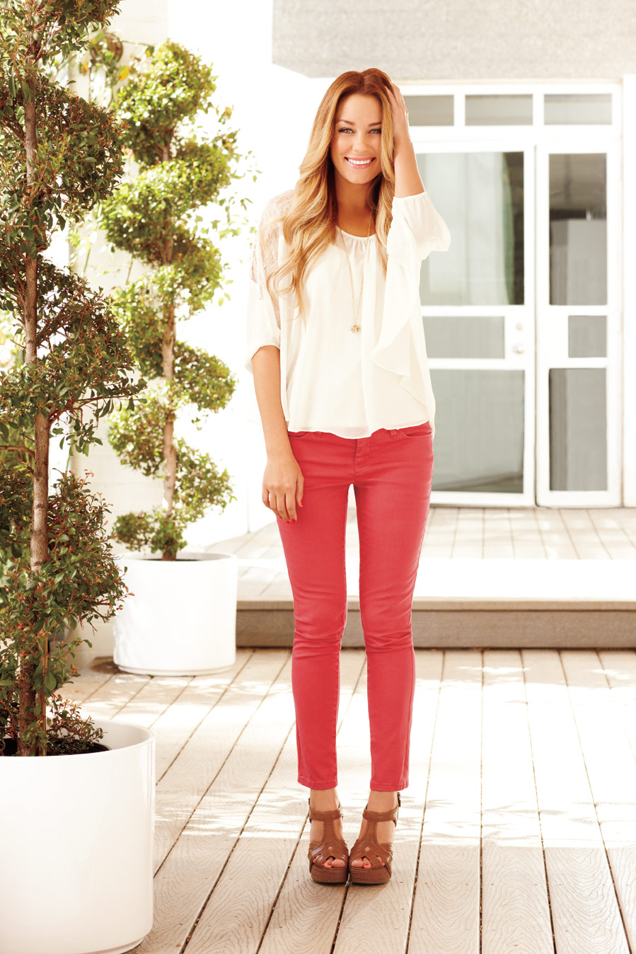 Food Love u0026 Life {fashion} red jeans